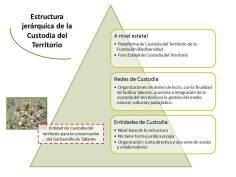 Estructura jerárquica de la Custodia del territorio