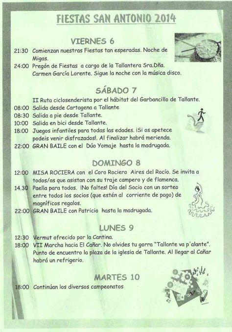 Programa de Fiestas - 1
