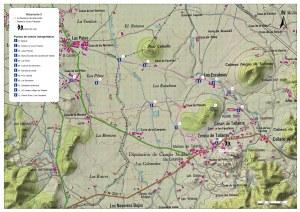 Plano del Itinerario 5