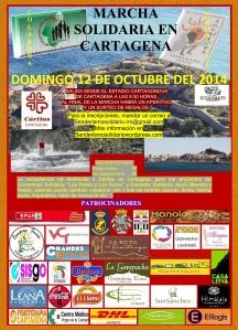 Marcha Solidaria Cartagena 2014