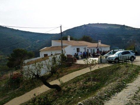 00_Las Casas del Nene al pie de Peñas Blancas en La Rambla del Cañar en Cartagena