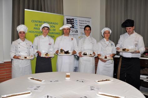 Finalistas del Concurso de repostería con harina de algarroba