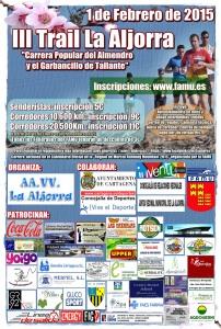 cartel III Trail La Aljorra_