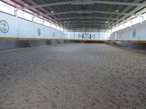 Parada 10_Vista de la pista central del Centro de equitación La Cruzada