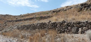 Parada 4_Piedra en seco_Construcciones de pedrizas con piedras volcánicas