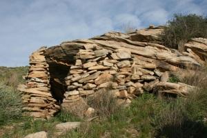 Parada 4_Piedra en seco_Refugio para pastores