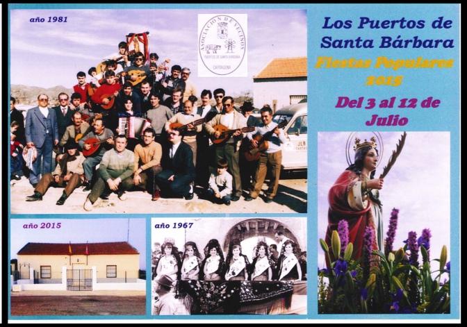 ¡Ya empiezan las fiestas de 2015 en los Puertos de Santa Bárbara!