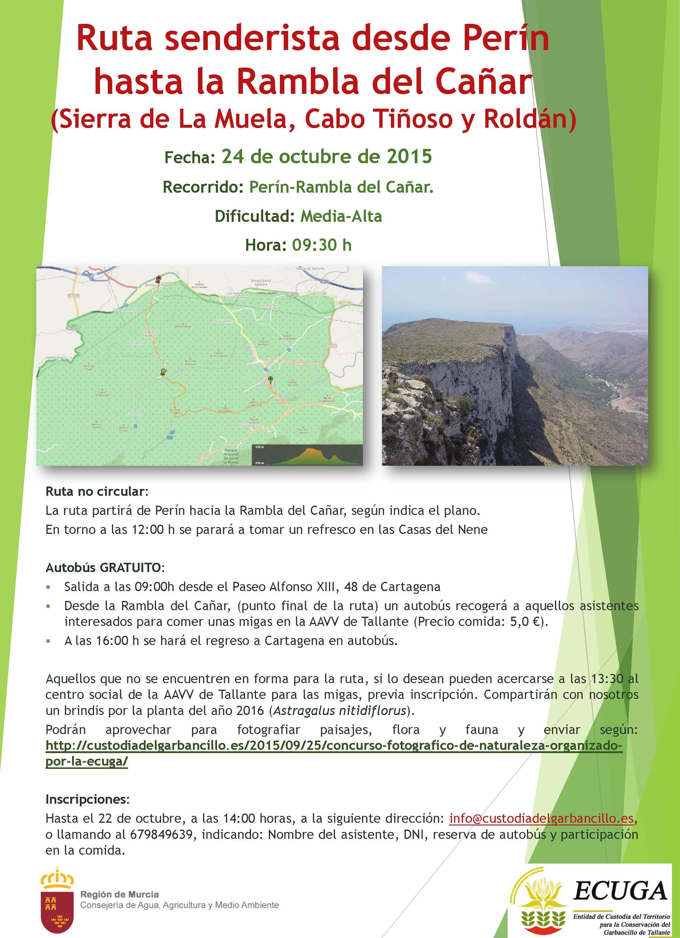 (24/10/2015) Senderísmo Perín-Tallante. Garbancillo de Tallante Cartel_ruta01