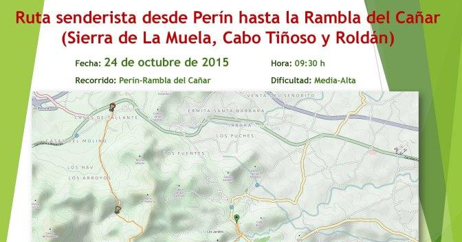 Ruta senderista de Perín a la Rambla del Cañar