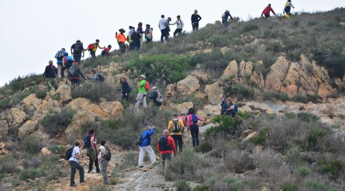 """El día después de la """"Ruta senderista de Perín a la Rambla del Cañar"""""""