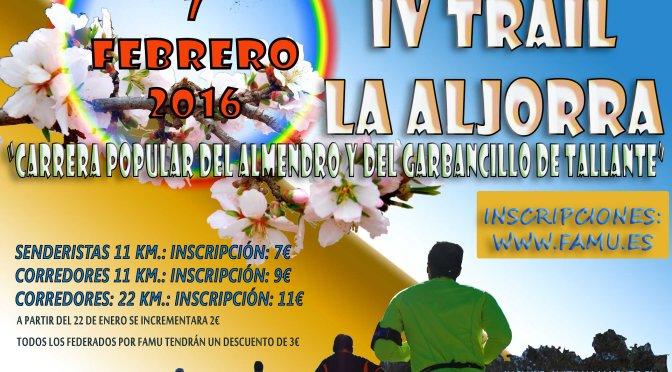 Información de Interés del IV Trail La Aljorra
