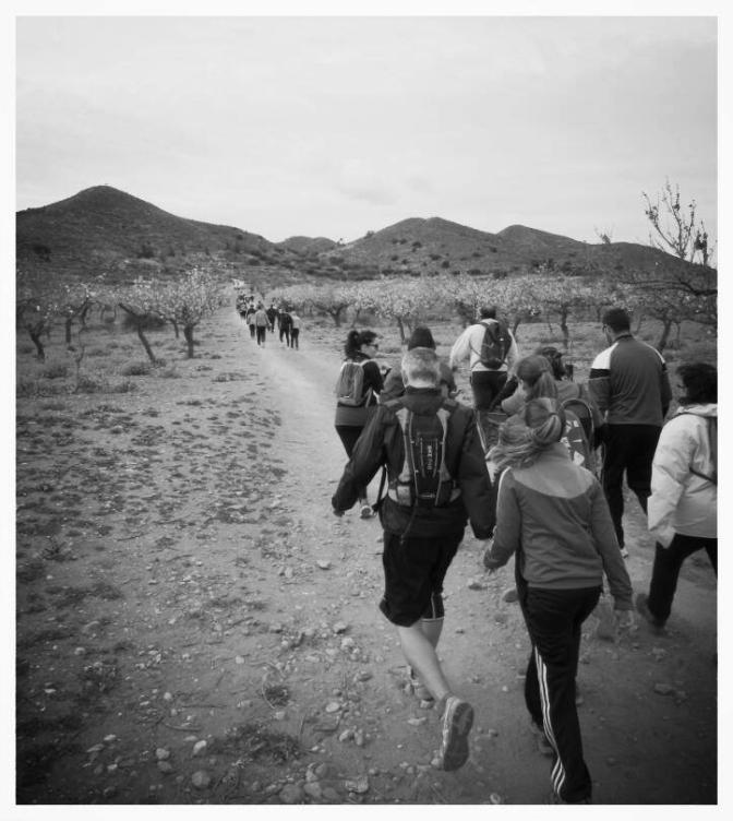 Fotografía ganadora del III Concurso en Trail La Aljorra