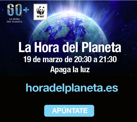 19 de marzo únete a la Hora del Planeta