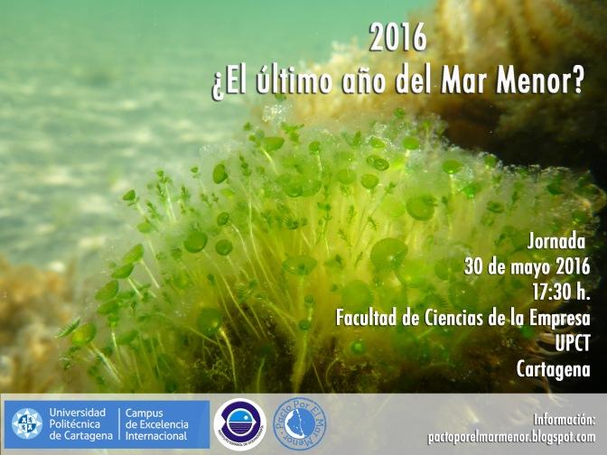 2016 ¿El último año del Mar Menor?