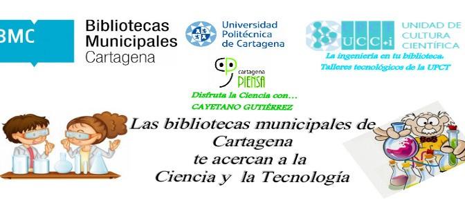 Bibliotecas de Cartagena organizan talleres sobre ciencia para niños