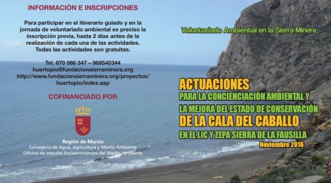 Voluntariado Ambiental en la Sierra Minera