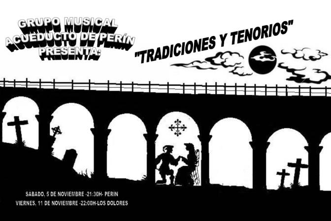 """""""Tradiciones y Tenorios"""", evento cultural en Perín"""