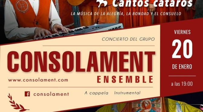 Música de la alegría, la bondad y el consuelo, viernes 20 de enero. Canteras