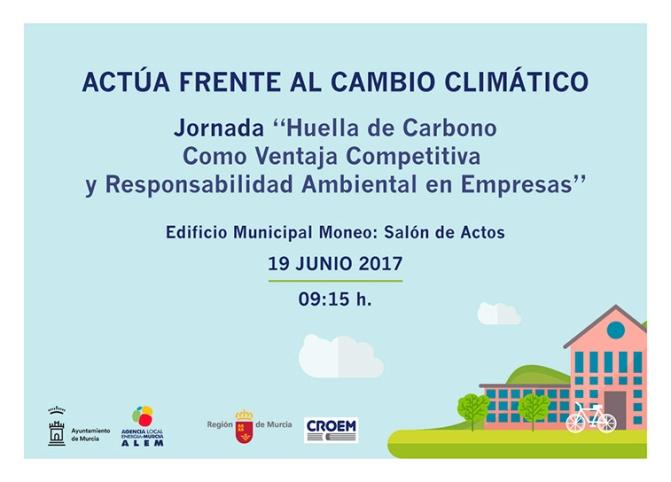 Jornada sobre Huella de Carbono en Murcia