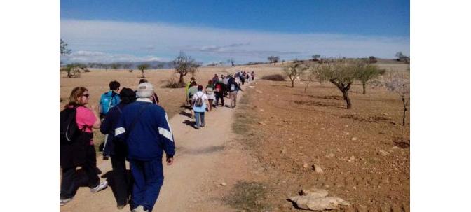 Jornada de senderismo sociocultural Senior en Santa Bárbara