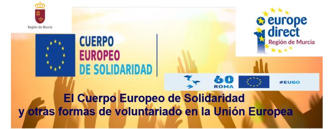 Jornada sobre voluntariado en la Unión Europea
